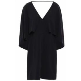 ホルストン ヘリテイジ HALSTON HERITAGE レディース ワンピース ワンピース・ドレス cape-effect stretch-crepe dress Black