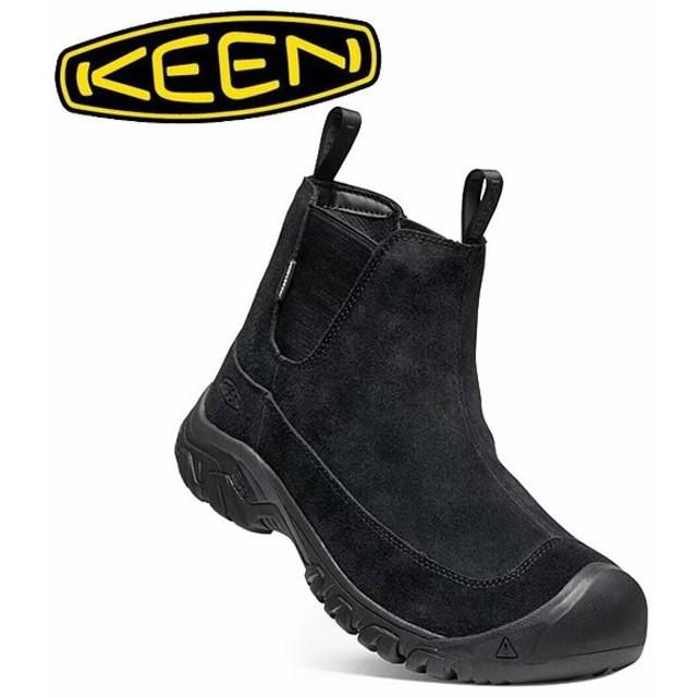 KEEN キーン ANCHORAGE BOOT III SD アンカレッジブーツ BLACK/RAVEN 1021577 【メンズ/防水ウィンターブーツ/サイドゴア/カジュアル/アウトドア】