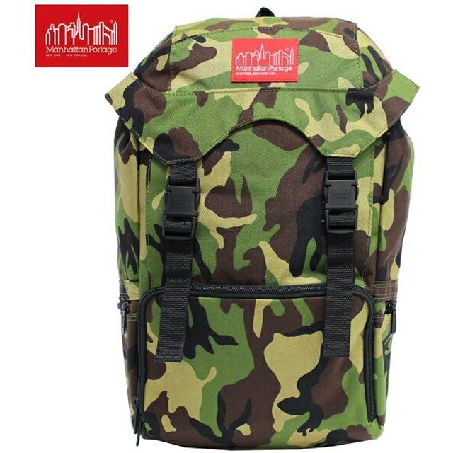 Manhattan Portage マンハッタンポーテージ Hiker Backpack JR ハイカー バックパック ジュニア リュックサック リュック バッグ A4 MP2123 W.CAMO