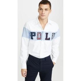 ラルフ ローレン Polo Ralph Lauren メンズ シャツ トップス Polo Block Logo Oxford Shirt Multi