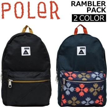 POLER ポーラー RAMBLER PACK ランブラー リュック リュックサック バックパック バッグ アウトドア メンズ レディース 612016