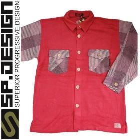 70%OFFセール OUTLET アウトレット / SPOOF スプーフ メンズ カジュアルシャツ / Lサイズ