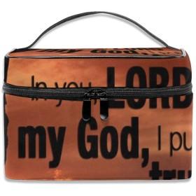旅行化粧品袋フラミンゴ柄ブルー大容量化粧品袋収納袋ウォッシュバッグ防水屋外旅行ポータブル