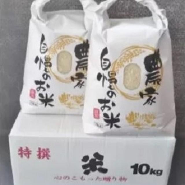 A2-125 令和元年産対馬産「ほたる舞う三根川の米」なつほのか5kg×2