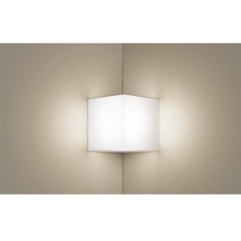 パナソニック LSEB4154 LE1 LED入隅コーナー用ブラケット 壁直付型 温白色 533lm 拡散形 上下面カバー付(非密閉)白熱電球60形1灯器具相当『LSEB4154LE1』