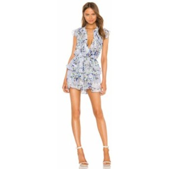 ミサロサンゼルス MISA Los Angeles レディース ワンピース ワンピース・ドレス Alona Dress Periwinkle Floral