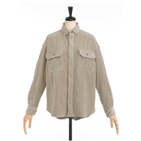miroir de ensuite コールアウターシャツ シャツ・ブラウス,ストーングレー