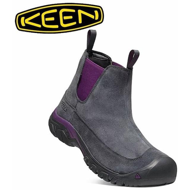 KEEN キーン ANCHORAGE BOOT III SD アンカレッジブーツ DARK SHADOW/SHADOW PURPLE 1021578 【メンズ/防水ウィンターブーツ/サイドゴア/カジュアル】