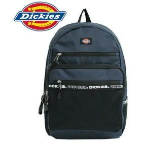 Dickies ディッキーズ ロゴ テープ バックパック Logo Tape Backpack バックパック リュック メンズ レディース B4 ネイビー 14952800