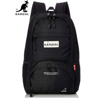 【国内発送】 KANGOL (カンゴール) KGSA-BG00066 BACKPACK (バックパック / リュック) Black (ブラック)
