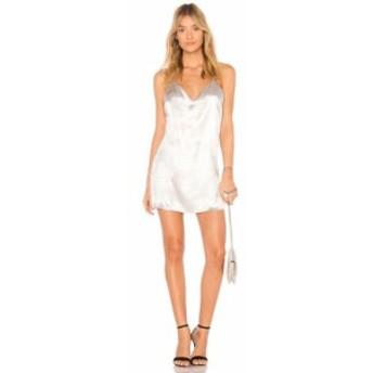 スーパーダウン superdown レディース ワンピース ミニ丈 ワンピース・ドレス Lucia Metallic Mini Dress Silver