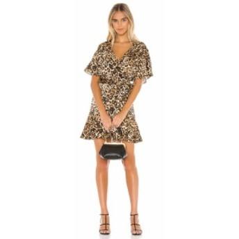 ビービーダコタ BB Dakota レディース ワンピース ラップドレス ワンピース・ドレス Wild Card Wrap Dress Brown