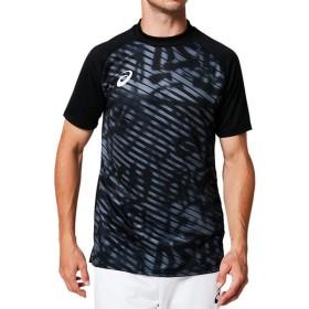 アシックス 2101A044 プラクティスシャツ ウェア メンズ PERFORMANCE BLACK