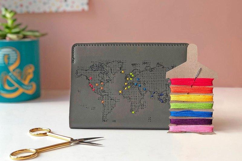 Goody Bag - 想飛的心- 地圖護照套+ 彩虹繡線限定組合特惠
