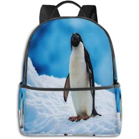 カジュアルバックパックファッションバックパック大容量学校レジャー旅行アウトドアビジネスワークコンフォートユニセックス ペンギン32