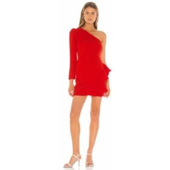 ラヴァーズフレンズ Lovers + Friends レディース ワンピース ミニ丈 ワンピース・ドレス Jett Mini Dress Red