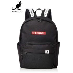 【国内発送】 KANGOL (カンゴール) BG00035 BACK PACK (バックパック / リュック) Black/Red (ブラック/レッド)