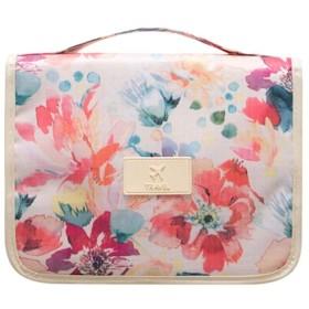 BIDLS トラベルウォッシュバッグ防水男性と女性のビジネス旅行多機能ポータブル大容量トイレタリー化粧品収納袋 持ち運びが簡単 (Color : Pink)