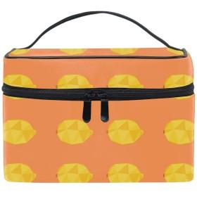 レモン化粧道具 小物入れ おしゃれ 高級感 大容量 收納抜群 かわいい プレゼント