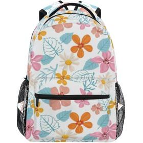 リュック 大容量 バックパック 学生 リュックサック レディース カラー 花柄 登山リュック デイパック メンズ おしゃれ 通学 通勤