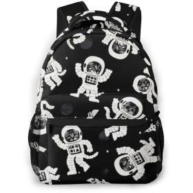 バックパック 宇宙飛行士 Pcリュック ビジネスリュック バッグ 防水バックパック 多機能 通学 出張 旅行用デイパック