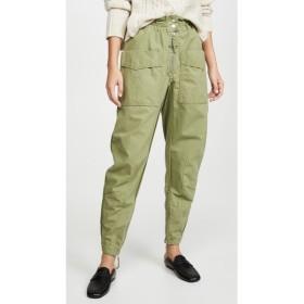 イザベル マラン Isabel Marant Etoile レディース カーゴパンツ ボトムス・パンツ Lecia Cargo Pants Khaki