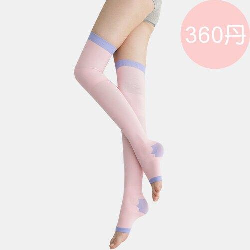 足下物語 360丹美化曲線睡眠襪(粉色)「618購物節」