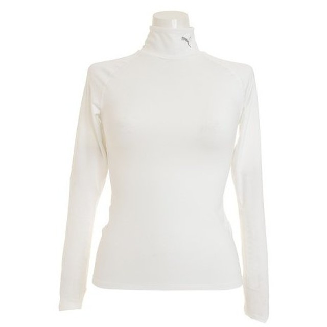 プーマ(PUMA) テック ライト モックネック トレーニング 長袖Tシャツ 518730 03 WHT (Lady's)