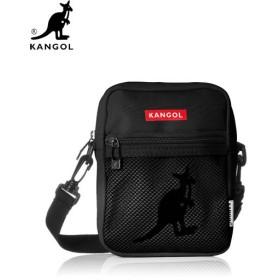 【国内発送】 KANGOL (カンゴール) KGSA-00037 SHOULDER BAG (ショルダーバック) Black (ブラック) バッグ ポーチ カバン