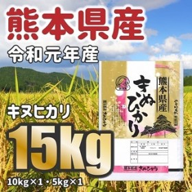 W069令和元年産★熊本県産キヌヒカリ 15kg