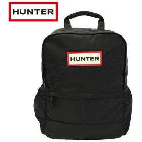 HUNTER ハンター オリジナル ナイロン スモール バックパック Original Nylon Small Backpack バックパック リュック メンズ レディース B4 ブラック ubb5028kbm