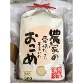 【令和元年 新米】岩手県矢巾町産 ひとめぼれ精米(8kg)