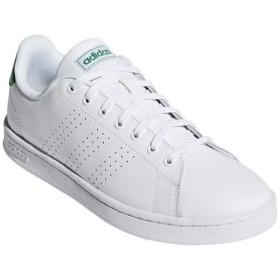 [adidas]アディダス メンズカジュアルシューズ ADVANCOURT LEA M (F36424) ランニングホワイト/ランニングホワイト/グリーン[取寄商品]
