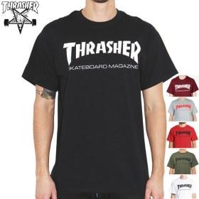(スラッシャー) THRASHER Tシャツ Sサイズ ブラック [並行輸入品]