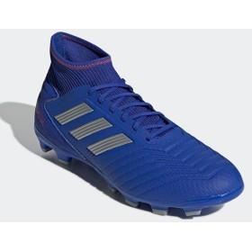 [在庫処分品につき返品交換不可] [adidas]アディダス サッカースパイク プレデター 19.3 HG/AG (F97363) ボールドブルー/シルバーメット/アクティブレッドS19