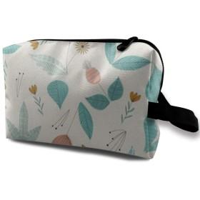 植物 化粧ポーチ トイレタリーバッグ トラベルポーチ 洗面用具入れ フルメイクセットバッグ 大容量 化粧品収納 出張 海外 旅行グッズ 育児グッズ レディース インナーバッグ