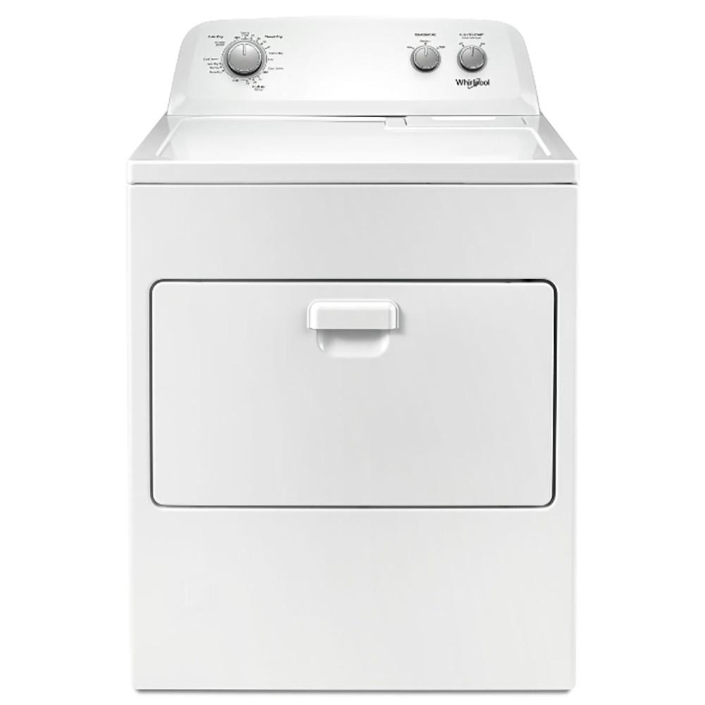 【Whirlpool 惠而浦】12公斤 下拉門瓦斯型直立乾衣機 WGD4850HW