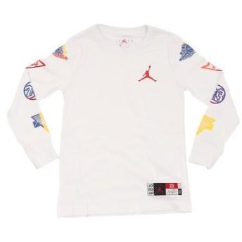 JORDAN 【オンライン限定特価】RIVALS PATCH 長袖Tシャツ 956258-001 (Jr)