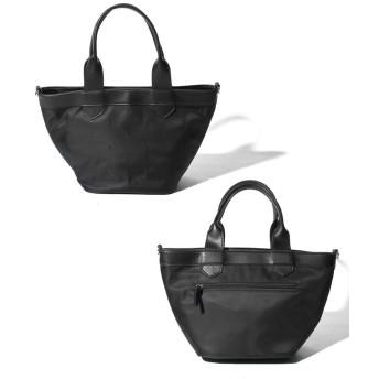 【40%OFF】 ベース 2way刺繍ドットナイロントートバッグ レディース ブラック FREE 【BASE】 【セール開催中】