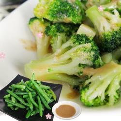 [老爸ㄟ廚房]焙煎鮮凍蔬食沙拉 5包組(150g±5%/包)加贈芝麻醬