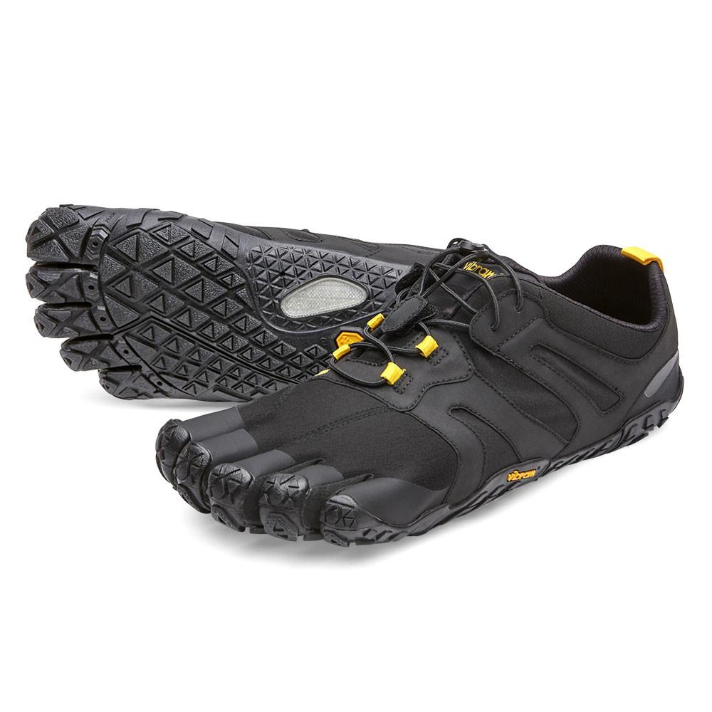 VFF黃金大底五指鞋 男 戶外越野跑-19M7601-黑黃V-Trail 2.0