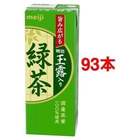 明治 玉露入り緑茶 ( 200ml24本セット )/ 明治