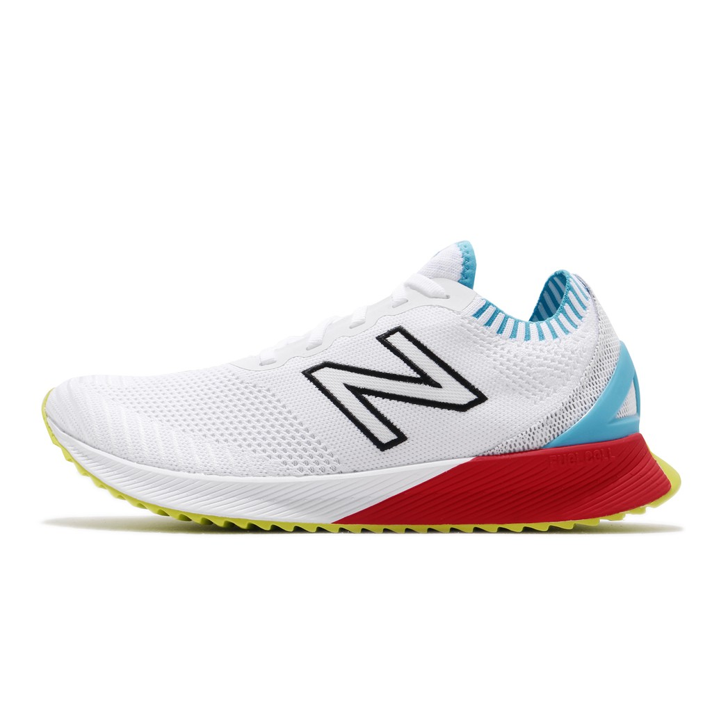 New Balance 慢跑鞋 ECHO NB 白 藍 男鞋 MFCECSWD 【ACS】