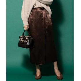 VICKY / ビッキー サテンラップスカート