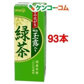 (訳あり)明治 玉露入り緑茶 ( 200ml24本セット )/ 明治