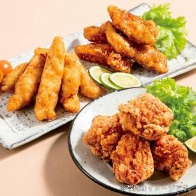 博多 華味鳥(はなみどり) 鶏三昧唐揚げセット