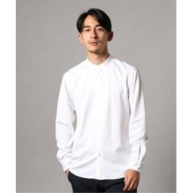 EDIFICE FUNCTION OUTLAST バンドカラーシャツ ホワイト 44