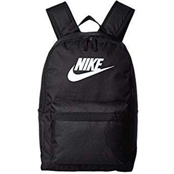 [NIKE(ナイキ)] バッグ、リュック Heritage Backpack 2.0 Black/Black/White One Size [並行輸入品]