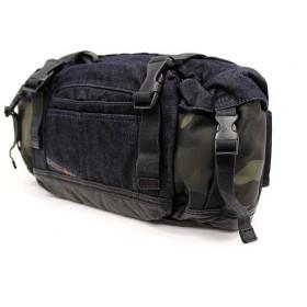 DIESEL ディーゼル X02551 P0321 H5261 ボディバッグ/ウエストバッグ/ヒップバッグ/カバン/鞄 ブルーデニム×カモフラ