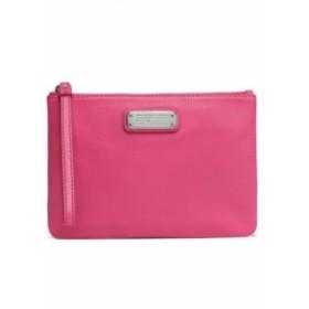 マーク ジェイコブス MARC BY MARC JACOBS レディース ポーチ textured-leather pouch Pink